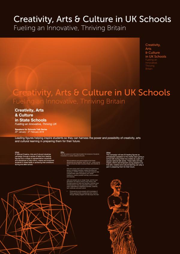 Creative Arts Poster design 4