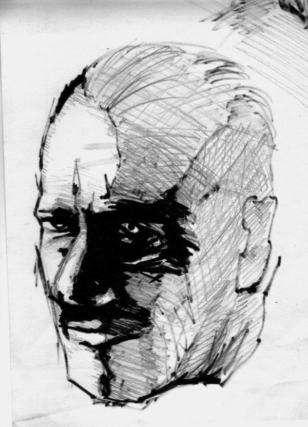 John Steinbeck Illustration