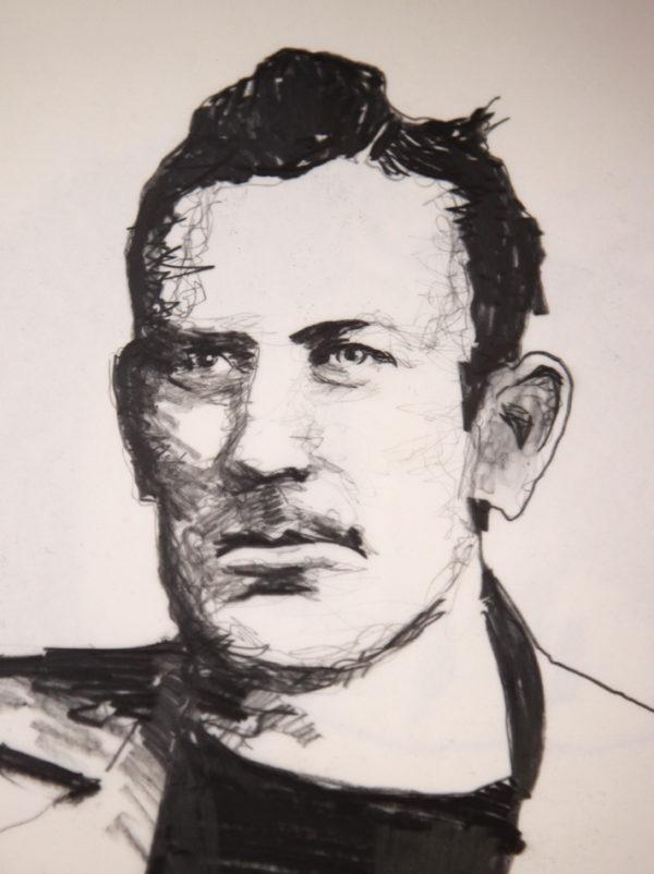 John Steinbeck Illustration Jim Stokes