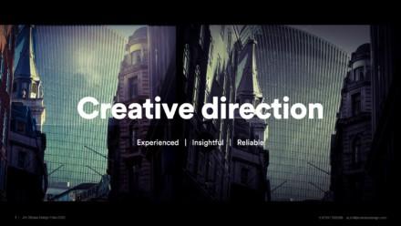 Portfolio 2021 Design & Creative direction
